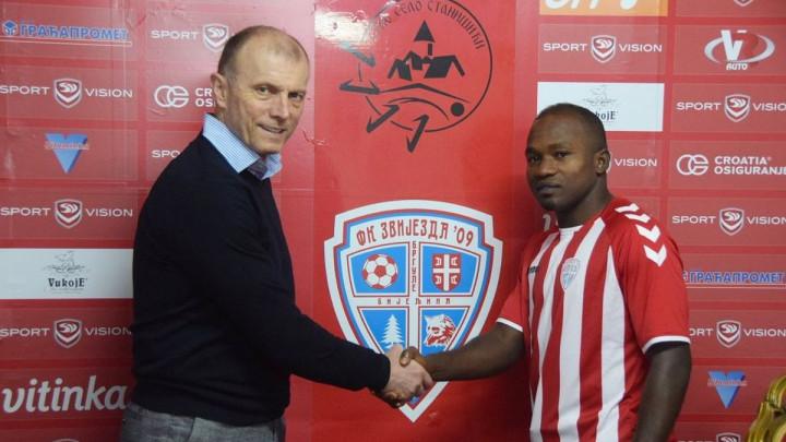 Nigerijac koji je igrao protiv BiH na SP-u napustio Zvijezdu, ali odmah pronašao novi klub