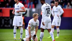 Leverkusen zabio Eintrachtu šest komada u prvom poluvremenu, pa povukao ručnu