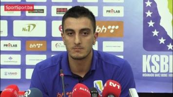 Tomić i Atić pred Armeniju: Spremni smo za borbu