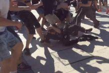 Užasavajući snimci iz Rusije: Masovna tuča huligana