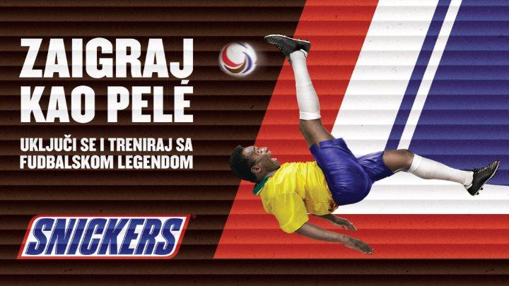 Zaigraj kao Pelé!