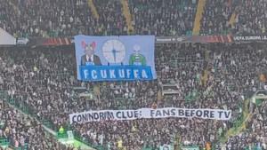 Žestoki protesti navijača Celtica zbog bizarne UEFA-ine odluke