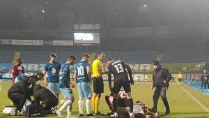 Žestok duel Oremuša i Mujezinovića: Fudbaler Sarajeva završio u kolima hitne pomoći