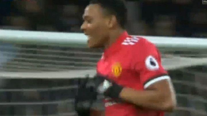 Sjajan gol Martiala za vodstvo Uniteda na Goodisonu