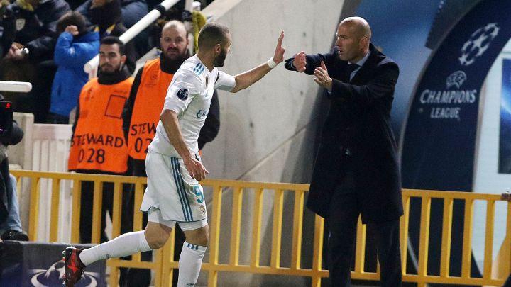 Zidane: Znao sam da će golovi Benzeme i Ronalda doći