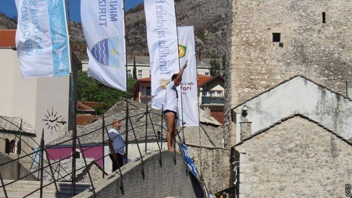Lorens Listo i Igor Kazić pobjednici skokova sa Starog mosta
