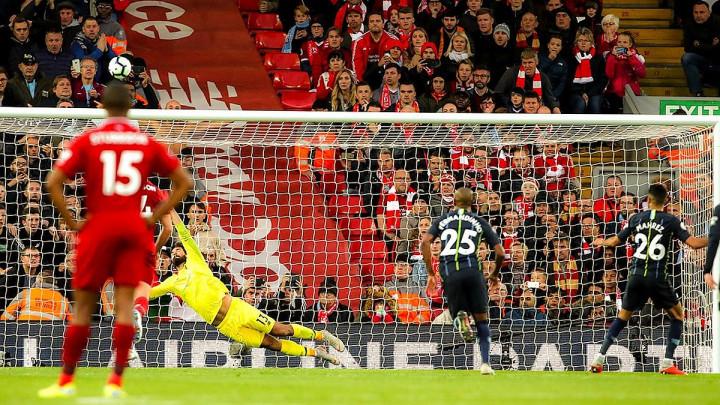 Podjela bodova na Anfieldu, Mahrez tragičar