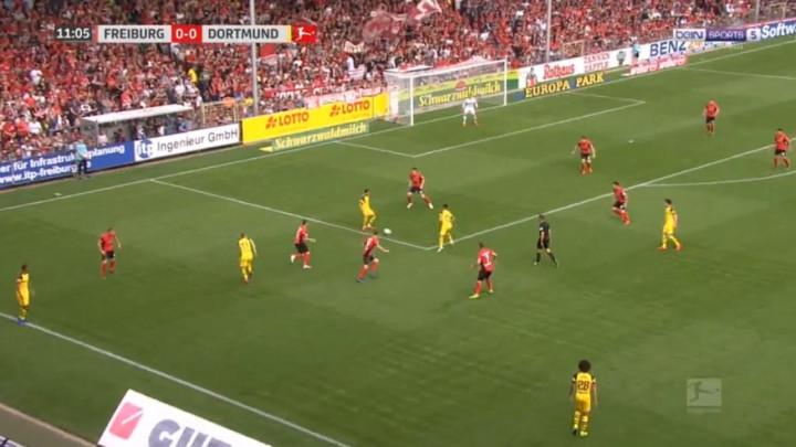 Fenomenalna akcija Borussije kao iz igrice za vodstvo protiv Freiburga