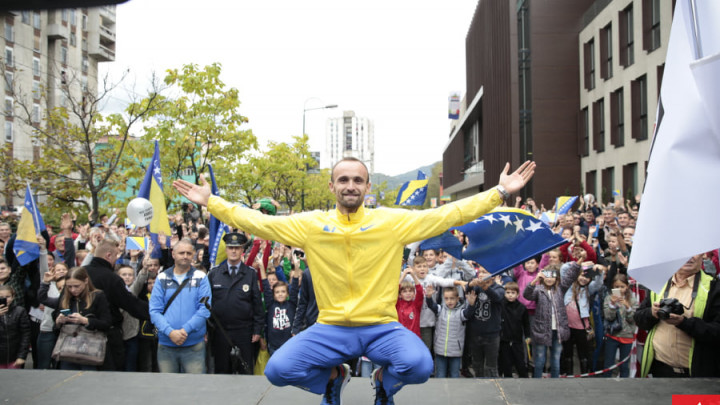 Amel Tuka još jednom pokazao koliko voli Bosnu i Hercegovinu