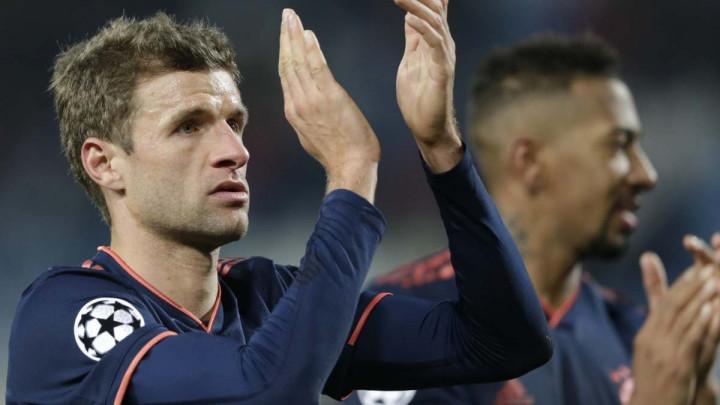 Muller pred derbi: Nadam se da ćemo sa osmijehom napustiti Dortmundov stadion