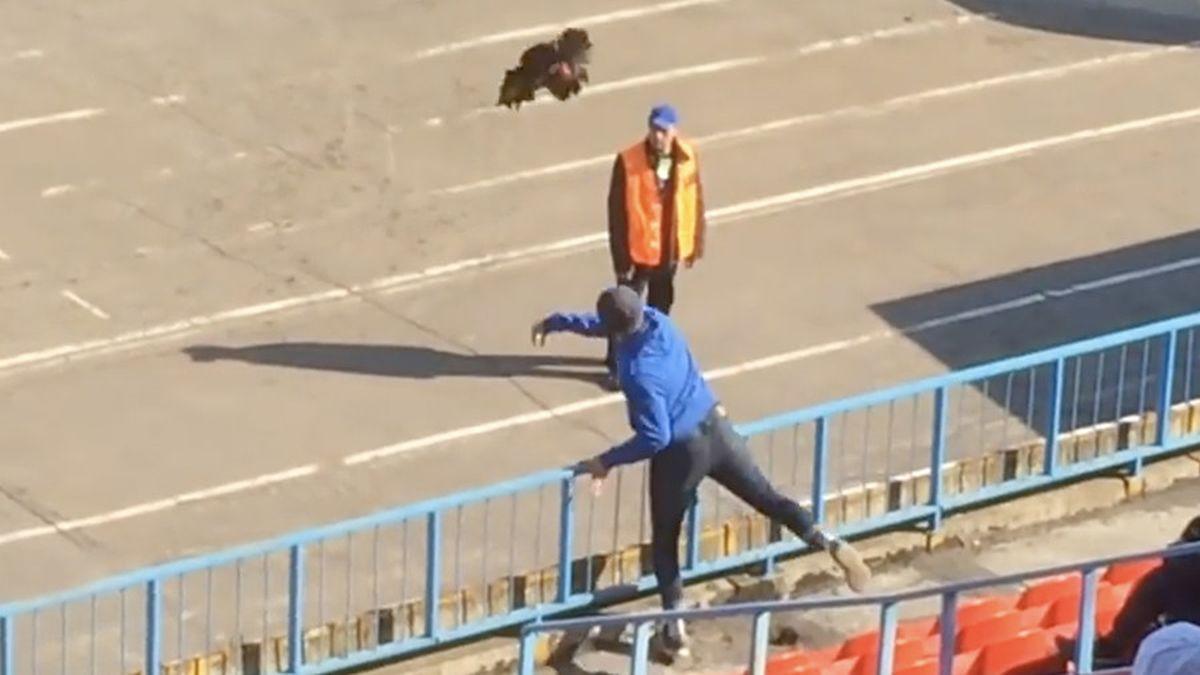 Samo u Rusiji: Navijaču prijeti zatvor zbog gađanja trenera živim pijetlom