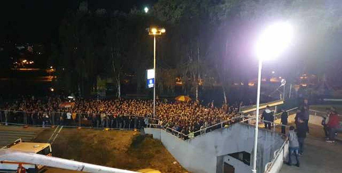 Do sada neviđene scene na stadionu Toše Proeski u Skoplju