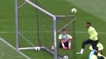Majstorija: Neymar oduševio golom na treningu