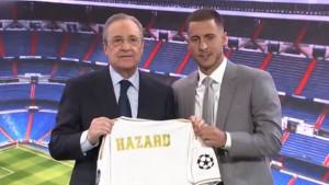 Hazard: Sretan sam što ću obući dres i braniti boje Real Madrida