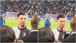 Ronaldo ni u Rijadu nije mogao pobjeći od povika 'Messi, Messi', a uslijedila je i reakcija