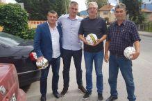 Sportska saradnja FK Krupa i FK Vitez