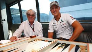 """Schumacherovi fanovi zabrinuti nakon izjave Ecclestonea: """"Trenutno on nije s nama, ali..."""""""