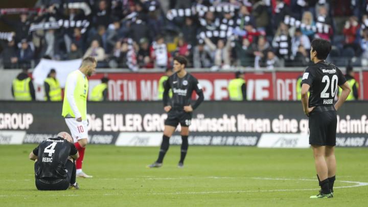 Eintracht doživio šokantan poraz, u posljednjem kolu moraju ići na pobjedu protiv Bayerna