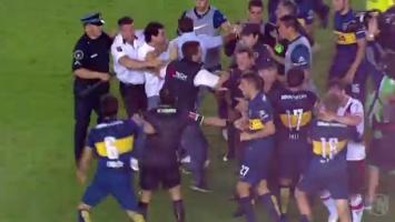 Fudbaleri Boce se sukobili sa vlastitim navijačima