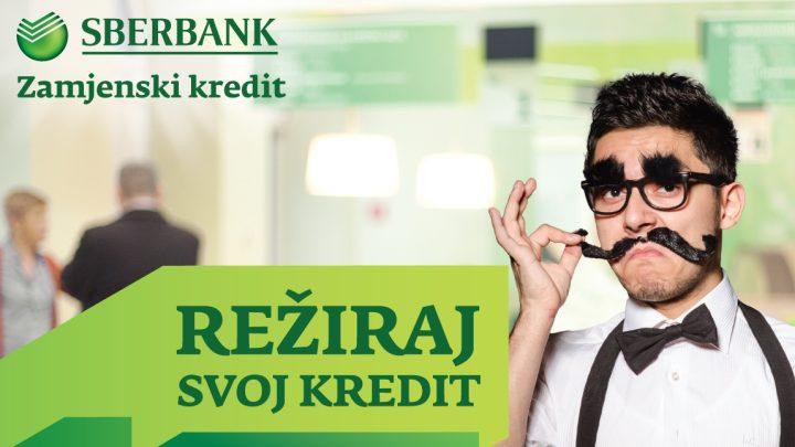 Režiraj svoj kredit - nova akcija kredita Sberbank BH