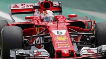 Vettel najbolji u Brazilu, Hamilton četvrti