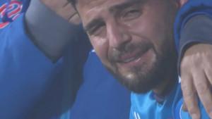Insigne nije mogao prestati da plače zbog poraza od Juventusa