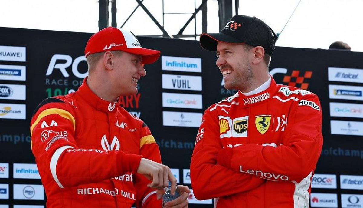 Mick Schumacher: Ono što je moj otac bio Vettelu, to je on meni sada