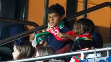 Ronaldov sin 'umirao' od dosade na utakmici