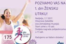 U nedjelju prva dm ženska utrka