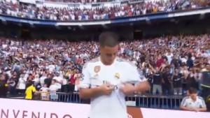 Navijači Reala su za Hazarda imali samo jedan zahtjev, a on ga je odmah ispunio