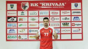 Ismir Salkić novi igrač RK Krivaja