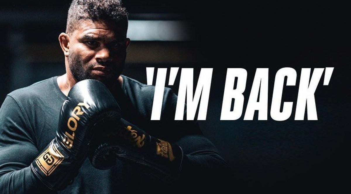 Kakva bomba iz Gloryja: Alistair Overeem se vratio kickboxingu