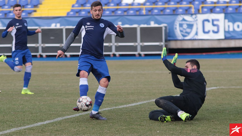 FK Željezničar ubjedljiv, hat-trick Ermina Zeca