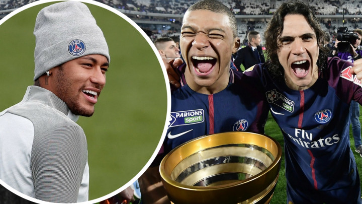 Šta je Neymar radio dok su njegovi saigrači proslavljali titulu?