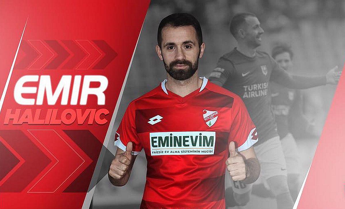 Emir Halilović karijeru nastavlja u Turskoj