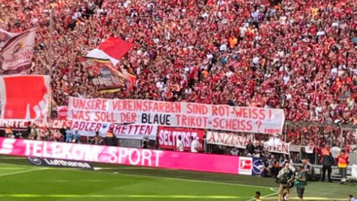 Bayernovi ultrasi: Šta će nam to sr**e na dresovima?!