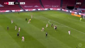 Gledajte i uživajte: Magična asistencija Malena i pogodak Zahavija za vodstvo PSV-a protiv Ajaxa