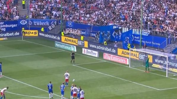HSV se izvukao sa penala u 98. minuti