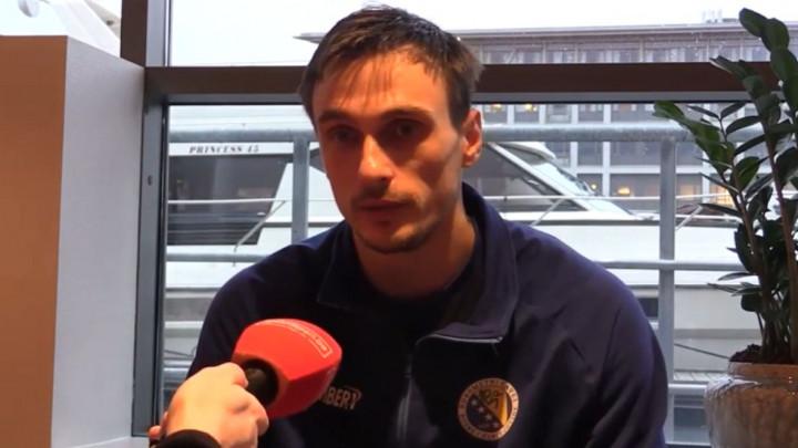 Karačić: Sigurno da će nam biti mnogo lakše u naredne dvije utakmice