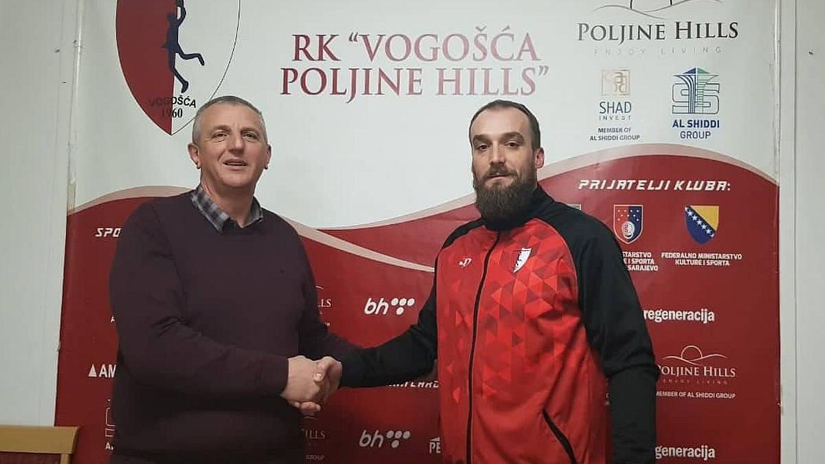 Ivan Stojanović se vratio u RK Vogošća