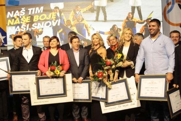 Larisi Cerić pripala nagrada za sportistu godine u 2014.