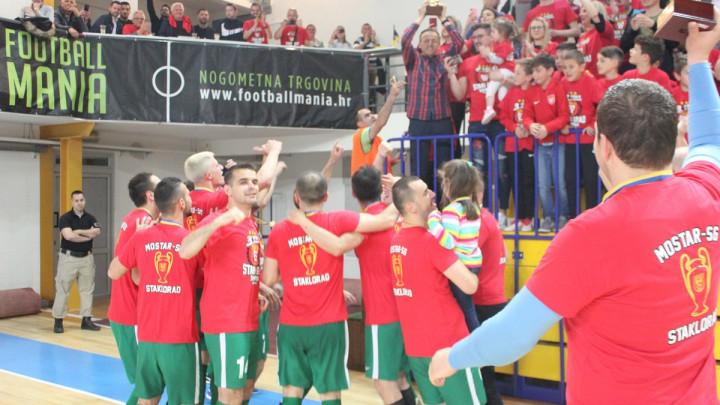 Mostar SG Staklorad obranio naslov futsal prvaka Bosne i Hercegovine!
