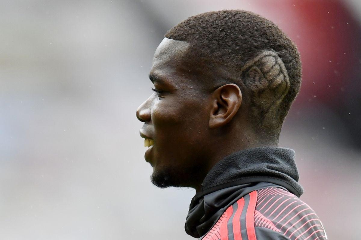 O detalju na Pogbinoj glavi se počelo pričati, a da utakmica United - Bournemouth nije ni počela