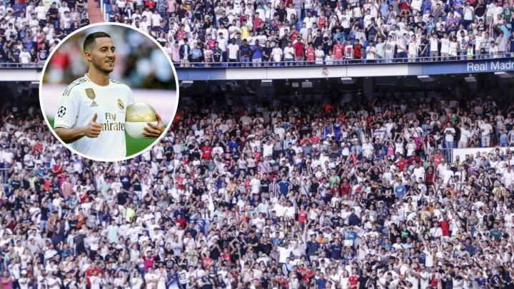 Dok je Hazard predstavljan, navijači Reala su skandirali ime drugog fudbalera
