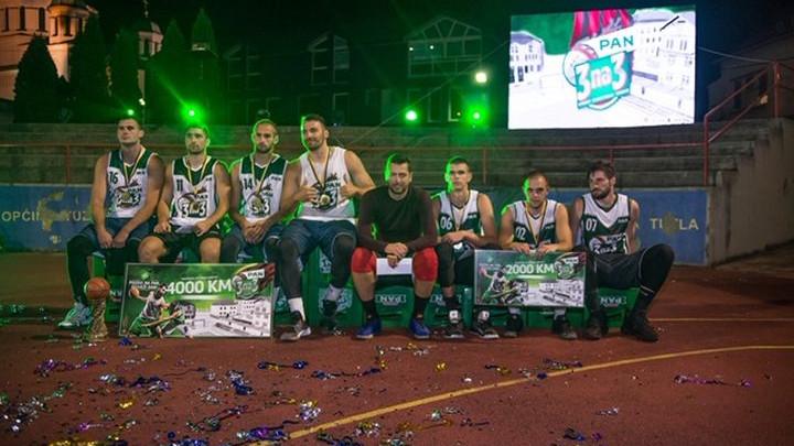 """Ekipa """"Sport Caffe"""" pobjednik petog """"Pan 3 na 3"""" turnira"""