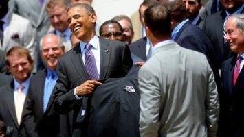 Obama u Bijeloj kući ugostio Baltimor Ravense