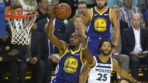 Warriorsi na Durantov pogon, Minnesota poklekla u finišu