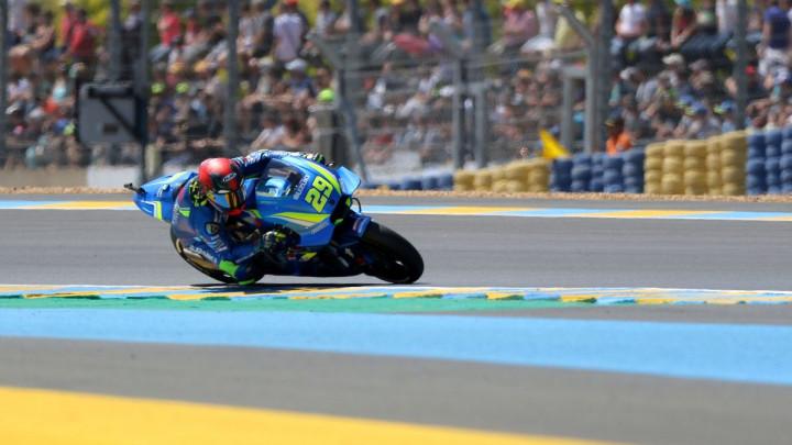 Iannone najbrži na prvom treningu