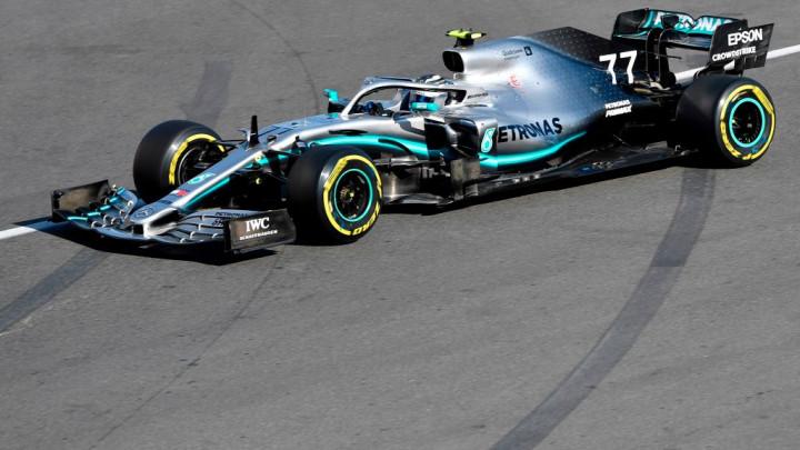 Dvostruka pobjeda Mercedesa u Bakuu, Bottas slavio ispred Hamiltona