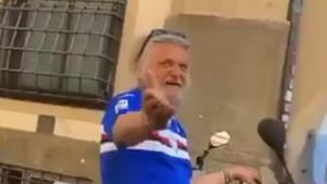 """Ferrero u dresu Sampdorije šetao ulicama Rima, a onda se zaustavio motorista: """"Pozdravio vas Džeko"""""""